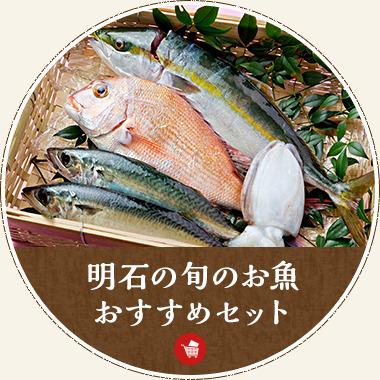 明石の旬のお魚おすすめセット